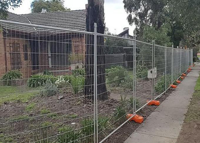 Uniform Mesh Australian Temporary Fencing For Environmental Protection Areas