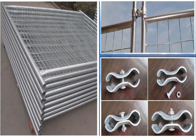 Safety Temporary Fence Panels Easily Assembled Galvanized For Durability