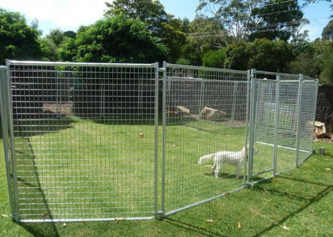 Hot Dipped Galvanised Temporary Site Security Fencing , Welded Wire