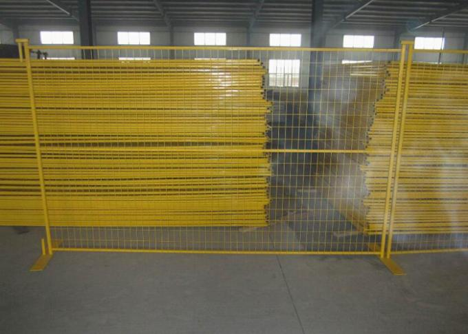 Road Security Welded Wire Mesh Temporary Fence Panels