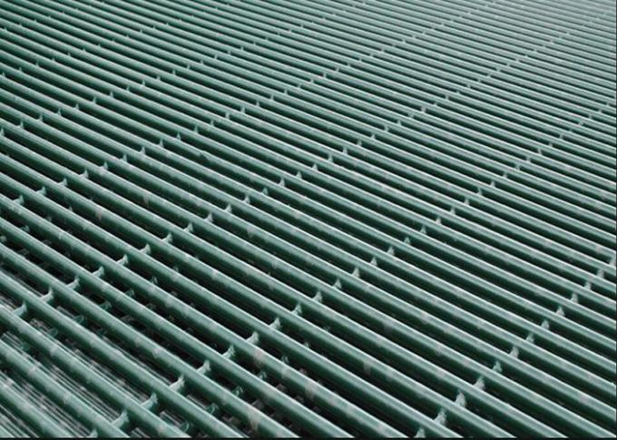 High Precision 358 Security Mesh 76.2mm X 12.7mm Galvanized Surface Treatment