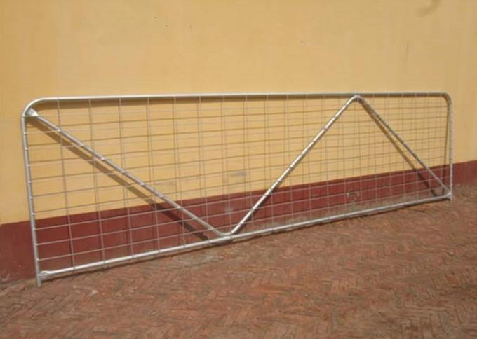 Livestock Chain Link Fence Gate New Zealand High Tensile And Light Weight