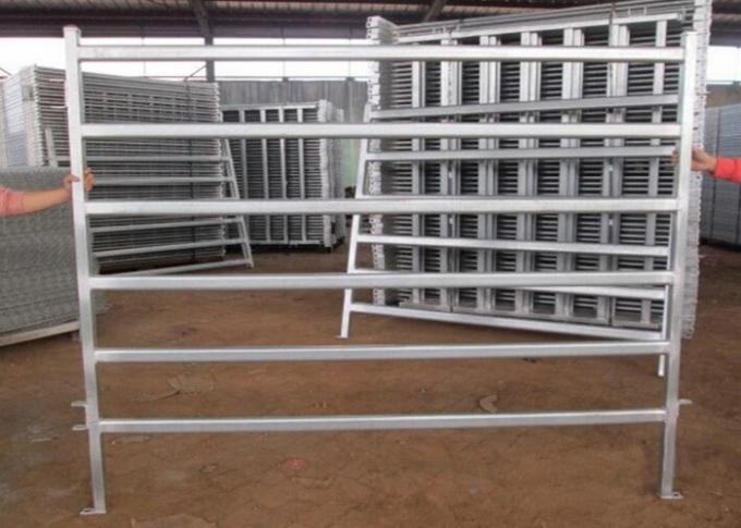 Metal Livestock Field Portable Stockyard Panels For Cattle Sheep Or Horse 1.8X2.1 Meter