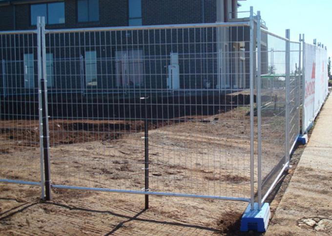 Welded Australian Temporary Fencing Hot Galvanized Portable Temporary Site Fencing