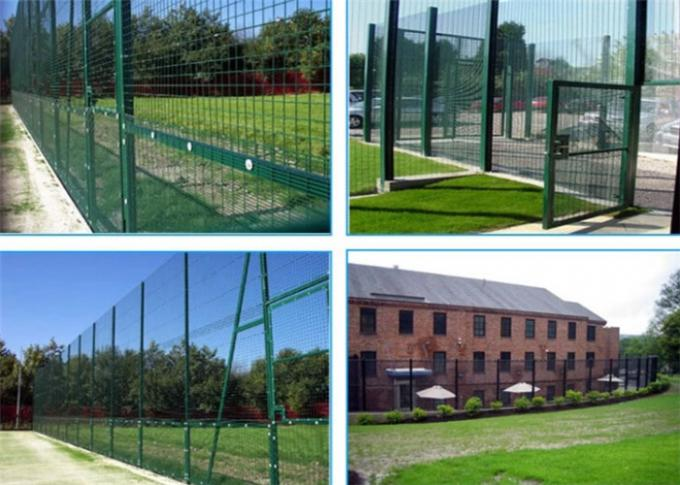 Welded industrial 358 security mesh panels for playground 0.9m-5.2m height