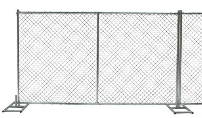 6FT X 12FT Chain link fence Temporary Fencing 38MM Out Galvanized Pipe